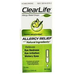 BHI Heel Clearlife Eye Drops 0 02 oz x 15 Dropper s formerly Oculoheel Eye