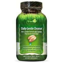 Irwin Naturals Daily Gentle Cleanse 60 Softgels