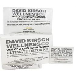 David Kirsch Wellness Ultimate Detox Kit Vanilla