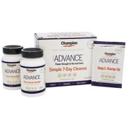 Champion Naturals Advance Simple 7 Day Cleanse Kit 3 Piece S