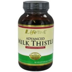 Lifetime Vitamins Milk Thistle Formula Advanced Liver Cleanse 90 Capsules