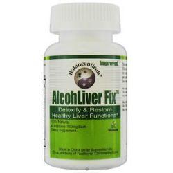 Balanceuticals Alcohliver Fix Detoxify Restore Healthy Liver Functions 60