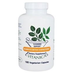 Vitanica Professional Women's Detox Cofactors Cleansing Support 180