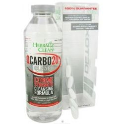 BNG Enterprises Herbal Clean QCARBO20 Clear Extreme Strength Cleansing Formula