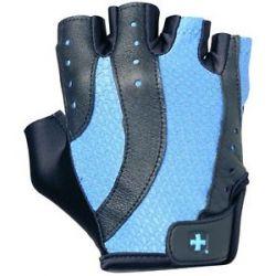 Harbinger Women's Pro Lifting Gloves Small Black Blue 1 Pair