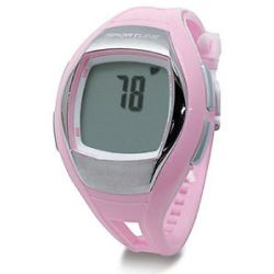 Sportline Solo 925 Heart Rate Pedometer Watch Designed for Women Pink 1