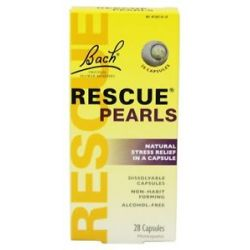 Bach Original Flower Remedies Rescue Pearls 28 Capsules