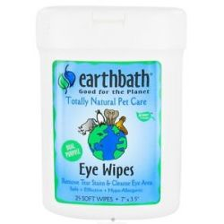 Earthbath Eye Wipes 25 Wipe S
