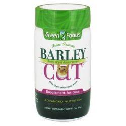 Green Foods Barley Cat 3 Oz