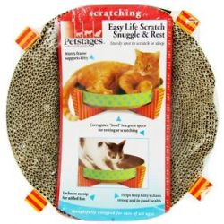 Petstages Easy Life Scratch Snuggle Rest for Cats