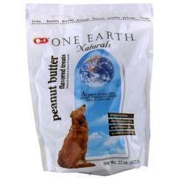 One Earth Naturals Dog Treats Peanut Butter 22 Oz