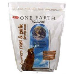 One Earth Naturals Dog Treats Brewers Yeast Garlic 22 Oz