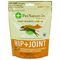 Pet Naturals of Vermont Hip Joint Advanced Formula Soft Chews For