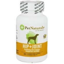 Pet Naturals of Vermont Hip Joint for Dogs 60 Chewable Tablets