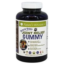 Nature's Dynamics Crazy Doggy Gummy Joint Relief 90 Gummies