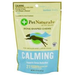 Pet Naturals of Vermont Calming Support for Medium Large Dogs Soft Chews