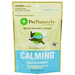Pet Naturals of Vermont Calming Support for Small Dogs Soft Chews Chicken