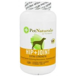 Pet Naturals of Vermont Hip Joint Extra Strength for Dogs 120 Chewable