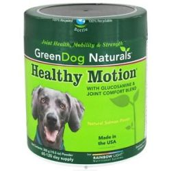 Green Dog Naturals Healthy Motion with Glucosamine Joint Comfort Blend