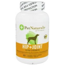 Pet Naturals of Vermont Hip Joint for Dogs Extra Strength Chicken Liver