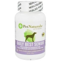Pet Naturals of Vermont Daily Best Senior Dog Natural Hickory Smoke Flavored