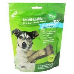 GNC Pets Multi Tastic Oral Care Dental Bones Small Bones Natural Fresh Mint