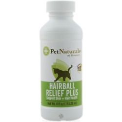 Pet Naturals of Vermont Hairball Relief Plus Support Skin Hair Health 4 Oz