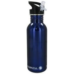 New Wave Enviro Products Stainless Steel Water Bottle Blue 20 Oz