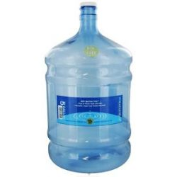 New Wave Enviro Products Round Tritan Water Bottle BPA Free 5 Gallon