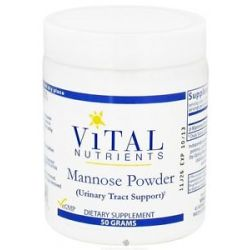 Vital Nutrients Mannose Powder 50 Grams