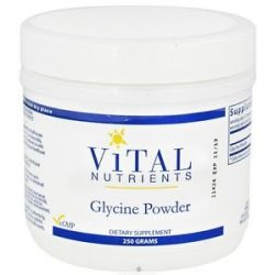 Vital Nutrients Glycine Powder 250 Grams