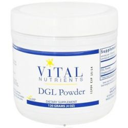 Vital Nutrients DGL Powder 120 Grams