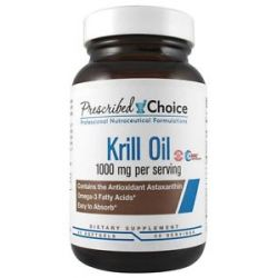 Prescribed Choice Krill Oil 1000 MG 60 Softgels
