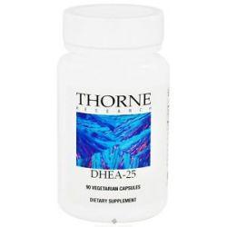 Thorne Research DHEA 25 MG 90 Vegetarian Capsules