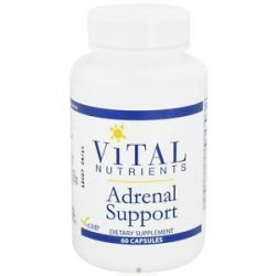 Vital Nutrients Adrenal Support 60 Capsules