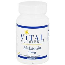 Vital Nutrients Melatonin 10 MG 60 Capsules