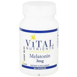 Vital Nutrients Melatonin 3 MG 60 Capsules