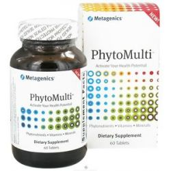 Metagenics Phytomulti Without Iron 60 Tablets 755571929037