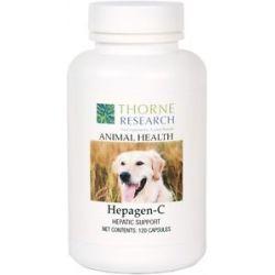 Thorne Research Animal Health Hepagen C 120 Capsules