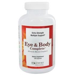 Biosyntrx Eye Body Complete 180 Capsules formerly Macula Complete