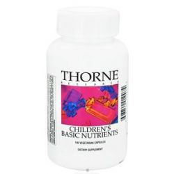 Thorne Research Children's Basic Nutrients 180 Vegetarian Capsules