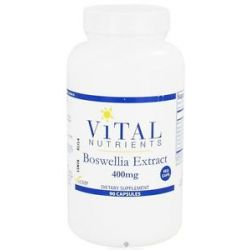 Vital Nutrients Boswellia Extract 400 MG 90 Vegetarian Capsules