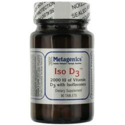 Metagenics D3 2000 Complex 2000 IU 90 Tablets formerly ISO D3