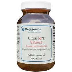 Metagenics Ultraflora Balance 60 Capsules formerly Ultra Flora Plus DF