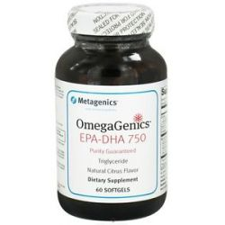 Metagenics Omegagenics EPA DHA 750 60 Softgels formerly EPA DHA 750