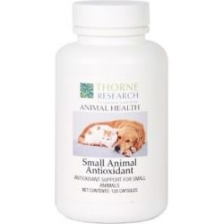Thorne Research Animal Health Small Animal Antioxidant 120 Capsules