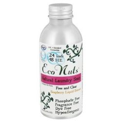 Eco Nuts Natural Laundry Soap Free and Clear 4 Oz