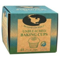 Beyond Gourmet Unbleached Baking Cups 2 1 2 inch 48 Cup S