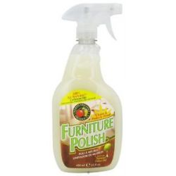 Earth Friendly Furniture Polish with Natural Olive 22 Oz