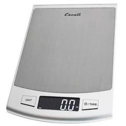 Escali Passo High Capacity Digital Food Scale 2210s